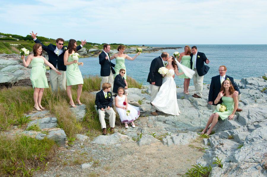Ocean Drive wedding party {photo credit Hansen Photography}