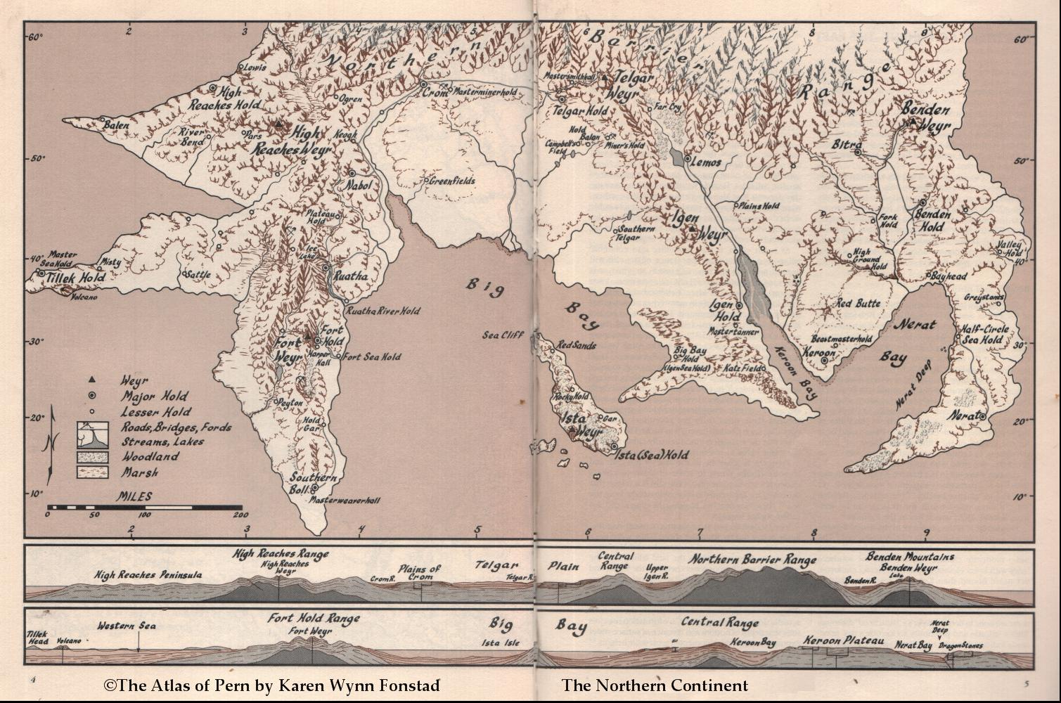 Bird s Eye Map View of Pern