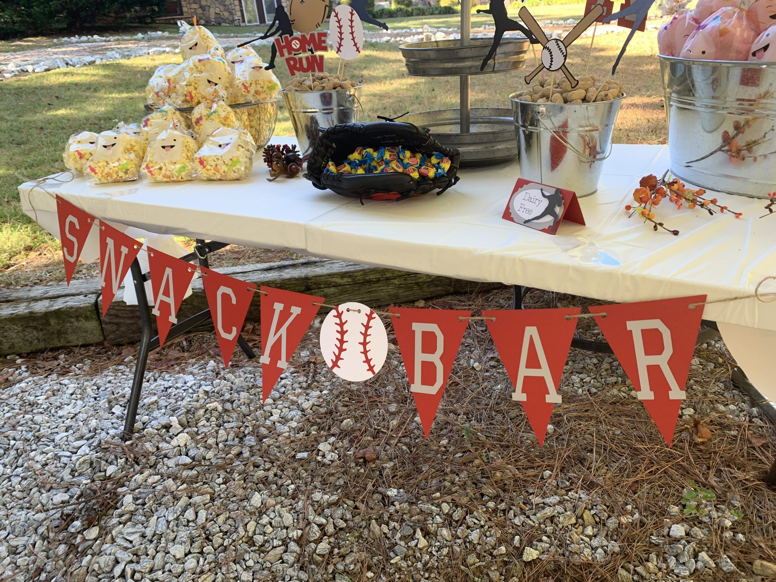 Baseball Party Decorations