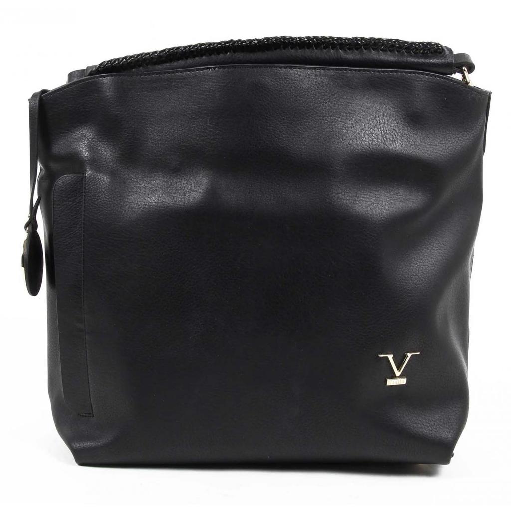 5b2af97e9aa4 Versace 19.69 Abbigliamento Sportivo Srl Milano Italia Womens Handbag VE06  BLACK