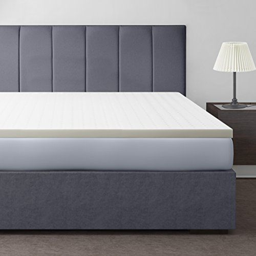 "Best Price Mattress 2"" Ventilated Memory Foam Mattress Topper Queen Read - best memory foam bed"