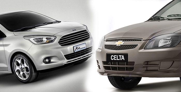 Ford Ka E Celta Sao Os Veiculos Que Mais Economizam Nos Servicos