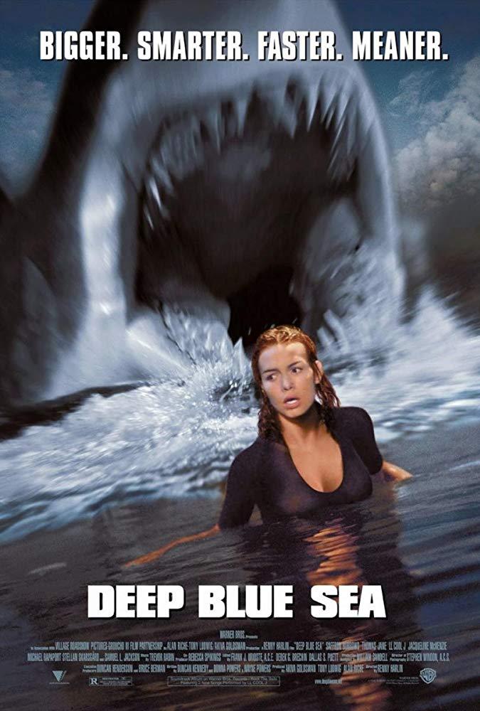 Deep Blue Sea 1999 Directed By Renny Harlin Deep Blue Sea Movie Blue Sea Movie Deep Blue Sea 1999