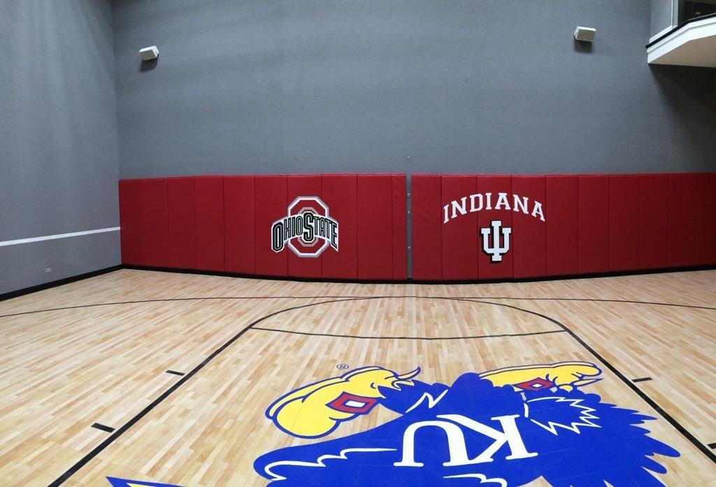 Jayhawks Gym Sport Court Court Indiana