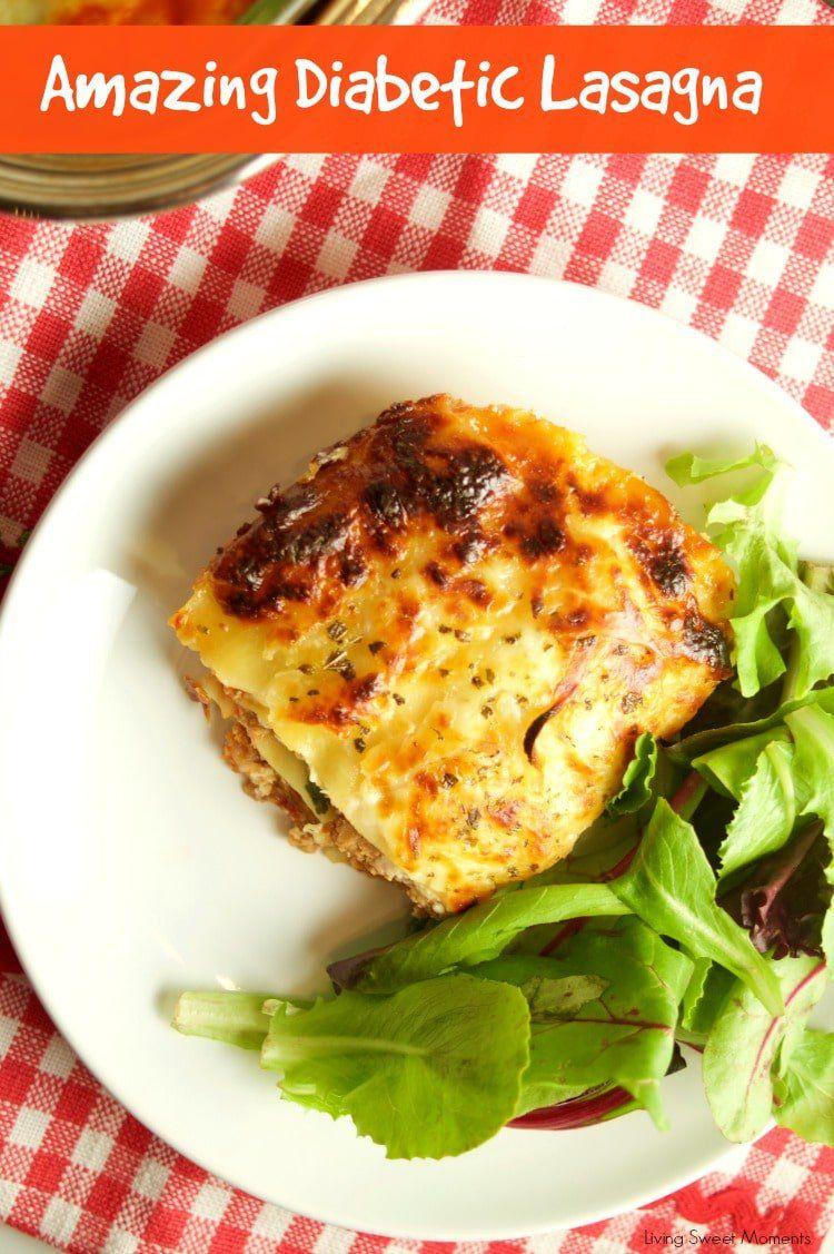 Diabetic lasagna recipe easy weeknight dinners ground turkey diabetic lasagna healthy meal recipesdiabetic forumfinder Choice Image