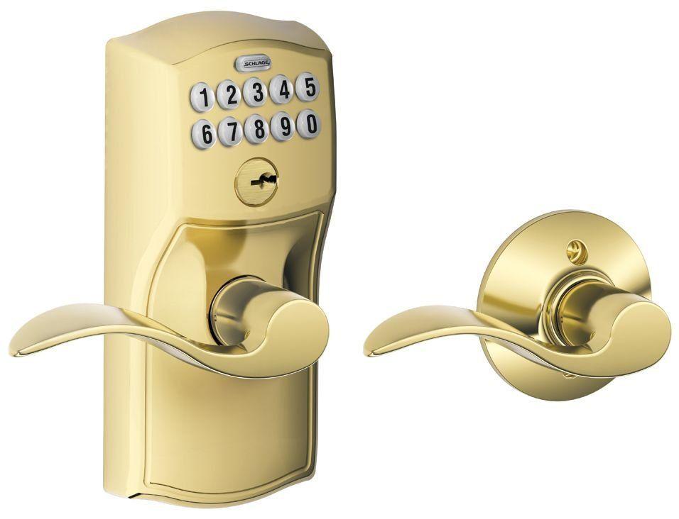 schlage fe575 cam acc camelot keypad entry with auto lock door