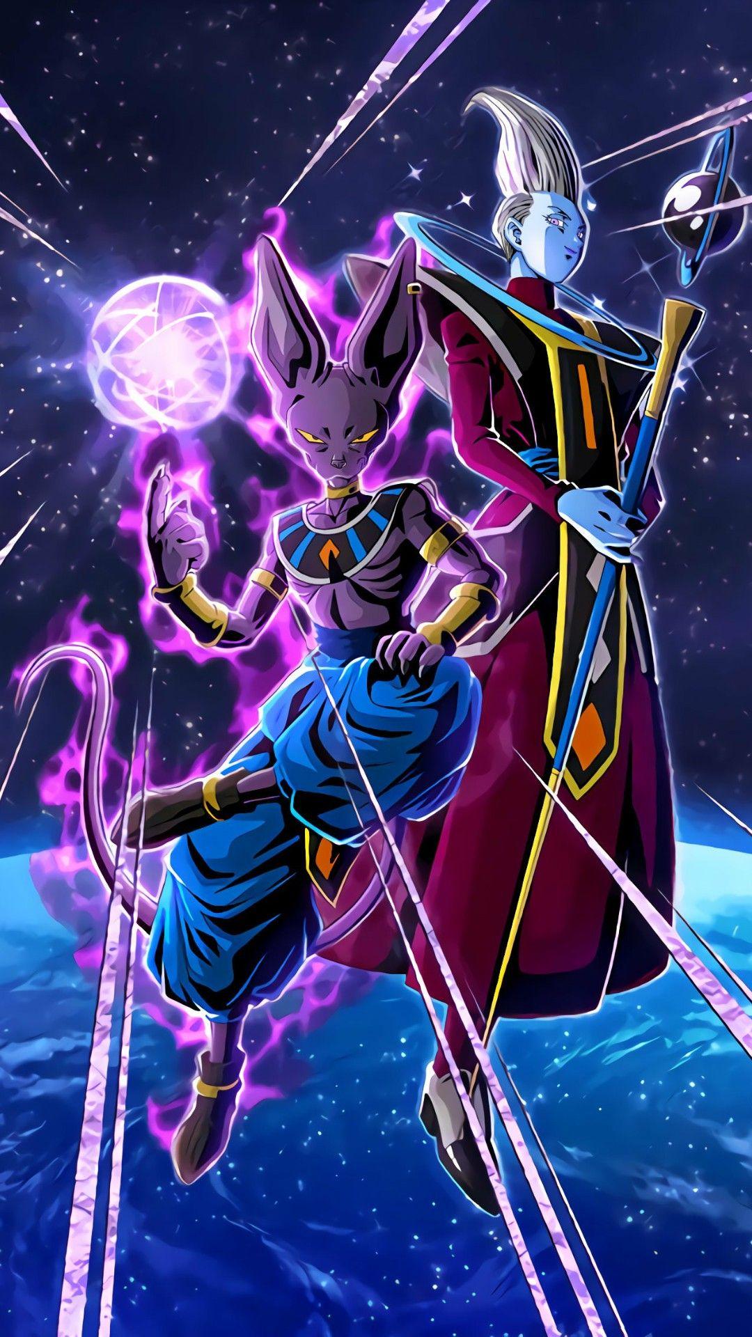 Bills Sama Y Wiss Dragon Ball Super Manga Anime Dragon Ball Super Dragon Ball