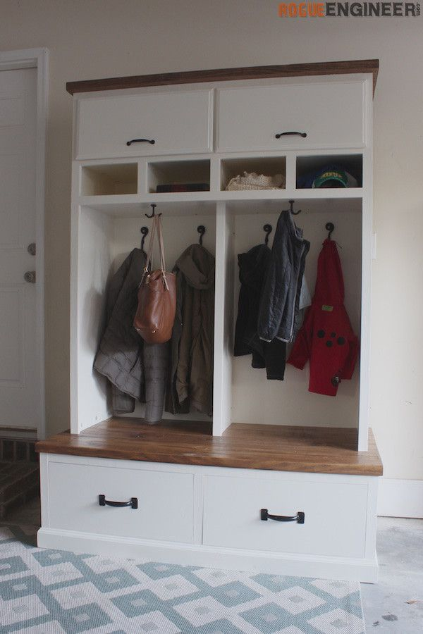 Mudroom Lockers With Bench Free Diy Plans Storage Bench Designs Diy Mudroom Bench Diy Storage Bench