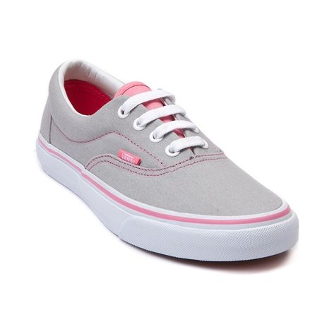 Vans Era Skate Shoe, Gray Pink