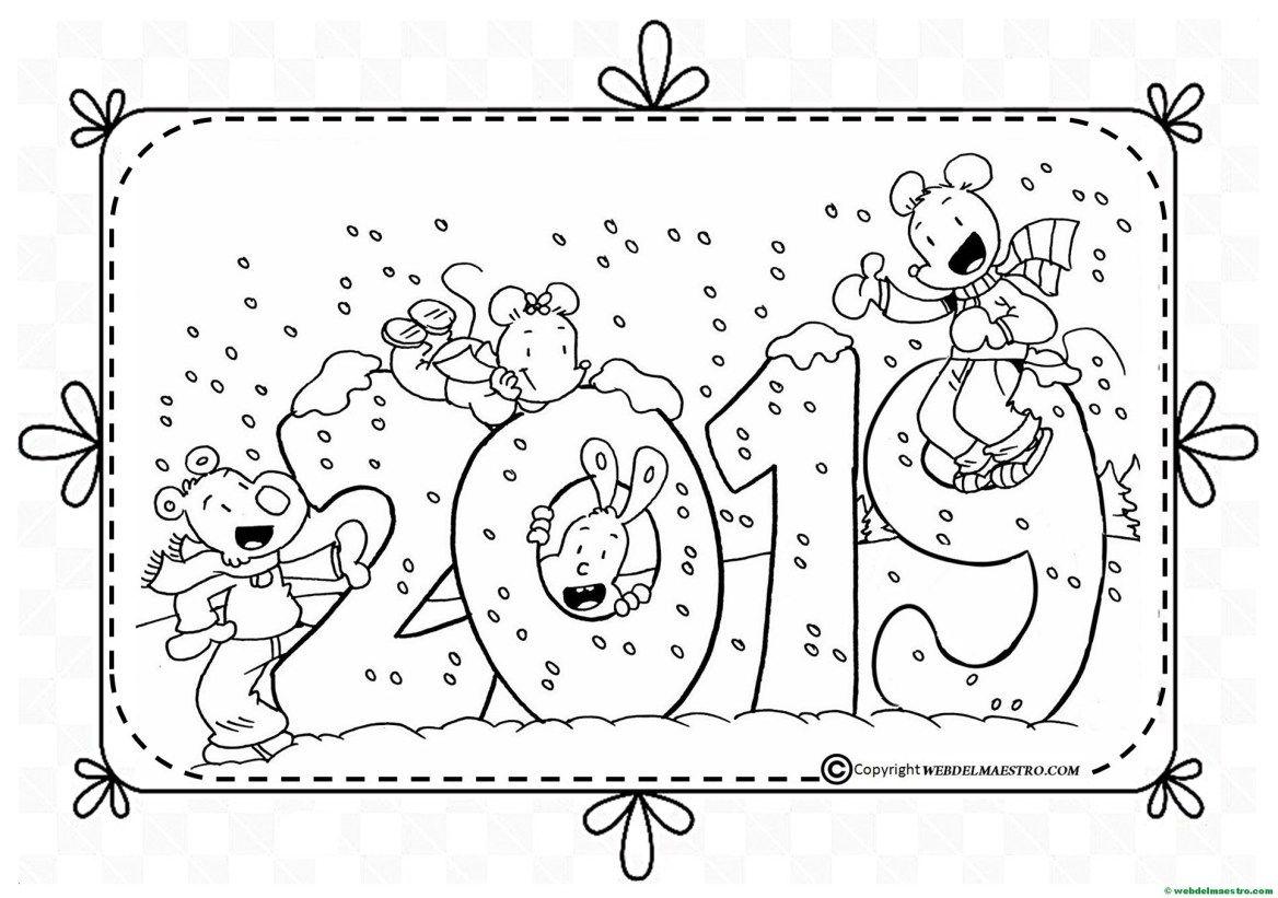 Dibujos Para Colorear Dibujos De 2019 Web Del Maestro Christmas Coloring Pages Winter Kindergarten Activities Coloring Books