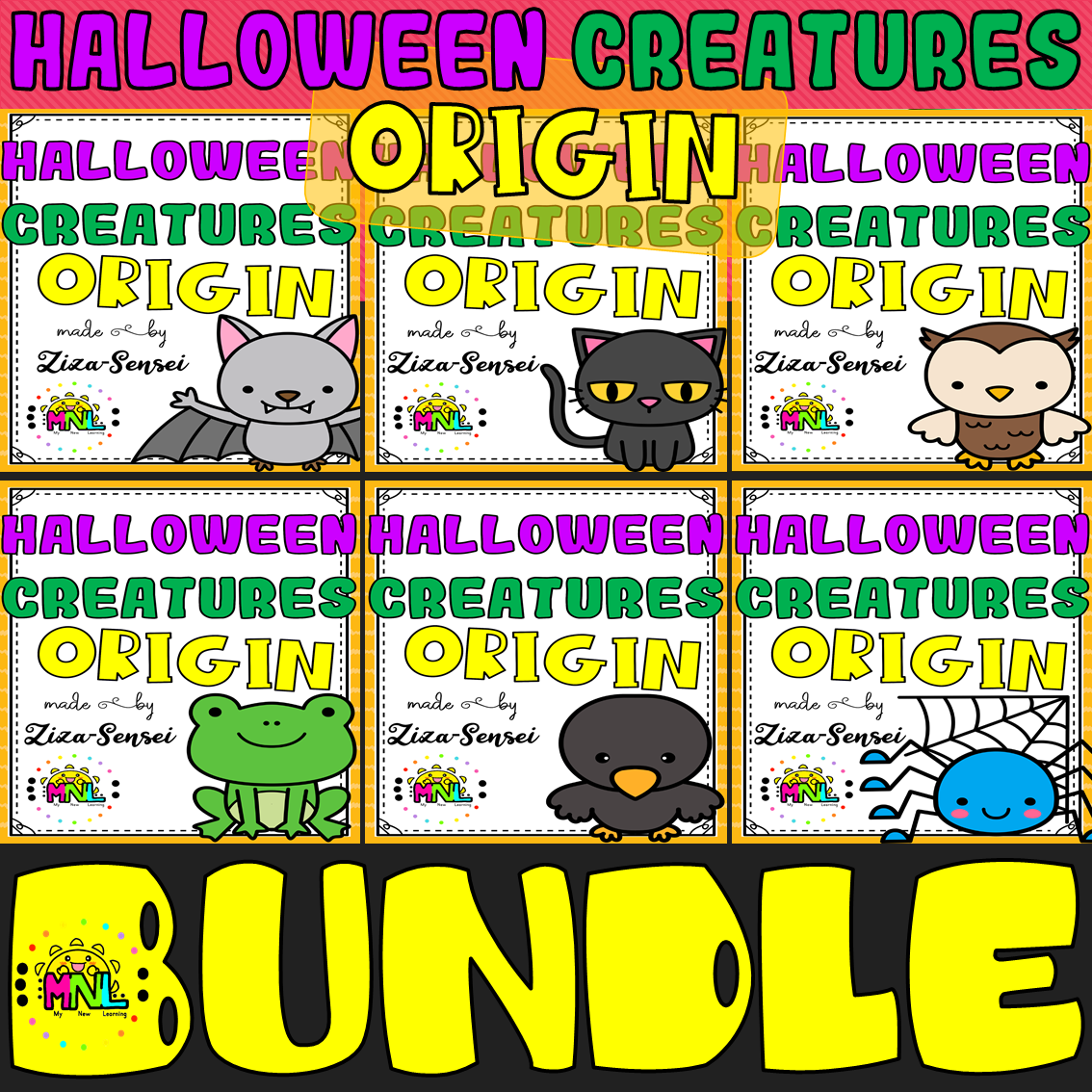 Non Fiction Reading Comprehension 3rd 6th Grade Halloween Bundle In 2020 Halloween Creatures Language Arts Elementary Halloween School [ 1134 x 1134 Pixel ]
