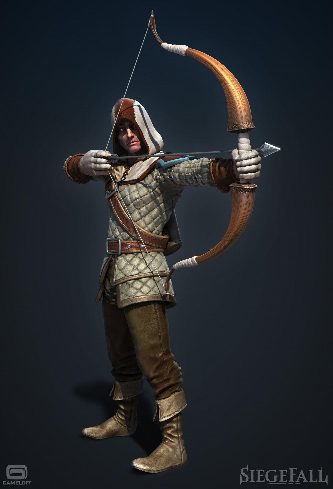 Siegefall - archer, Alexandre Proulx Audy on ArtStation at https://www.artstation.com/artwork/lDQlG