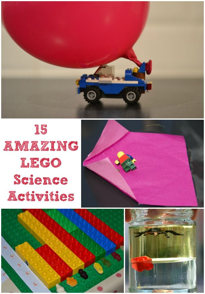 15 fun and easy LEGO science activities