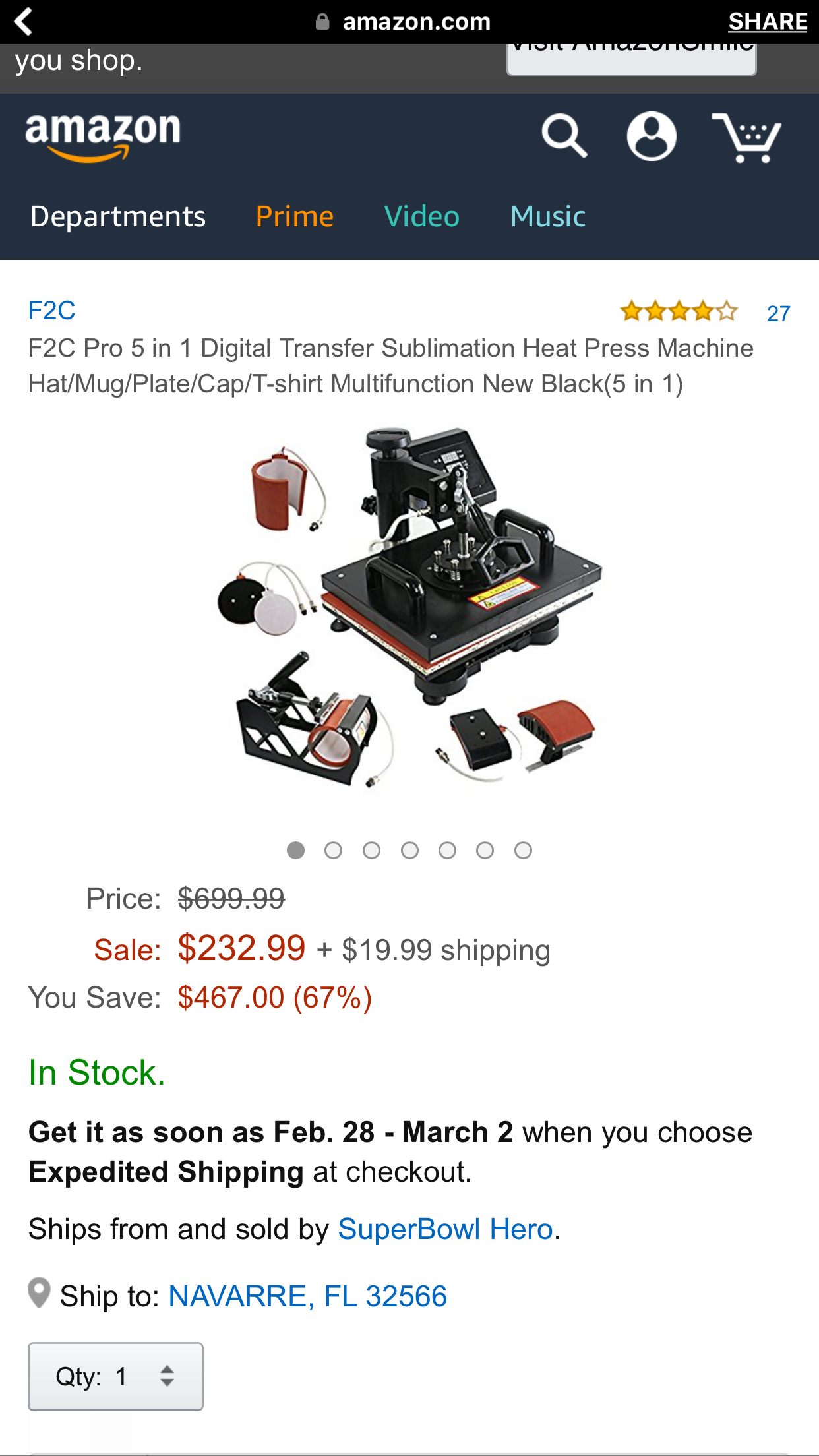 Right Here is the Brand New Image Of Sell New Product On Amazon