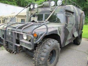 Humvee ambulance. Perfect for zombie base camp