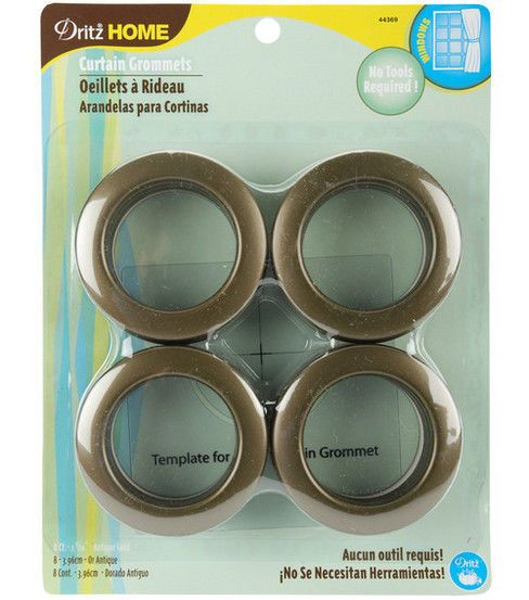 Dritz Home Curtain Grommets 8pk If These Walls Could Talk Home Curtains Curtains Gold Curtains
