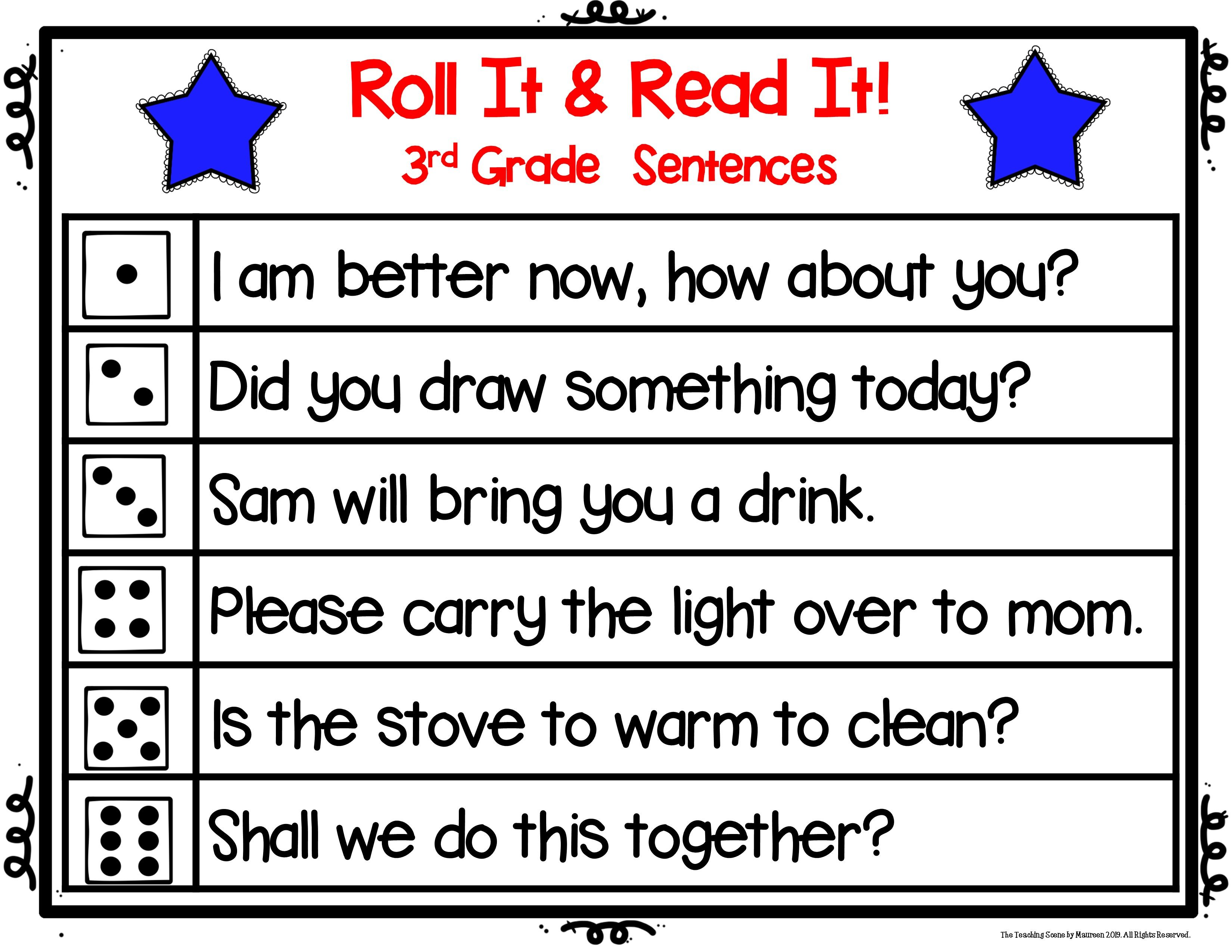Third Grade Sight Word Activities Amp Worksheets