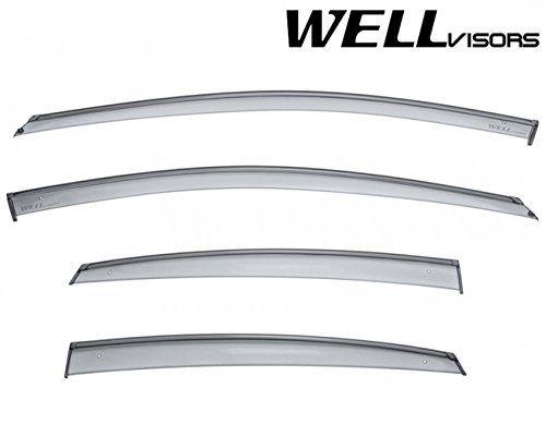 Wellvisors Side Rain Guard Window Visors Deflectors With Black Trim For 13 16 Dodge Dart 2013 2014 2015 2016 13 14 15 16 Audi A3 Sedan Sedan Chevrolet Sonic