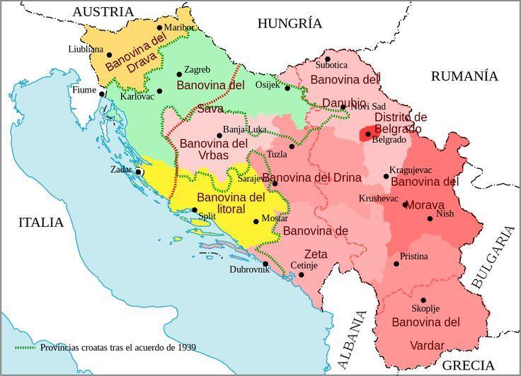 Image result for yugoslavia banovina