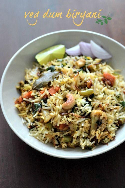 Hyderabadi vegetable dum biryani veg biryani step by step rice hyderabadi vegetable dum biryani veg biryani step by step rice dishes pinterest biryani veg biryani and biryani recipe forumfinder Image collections