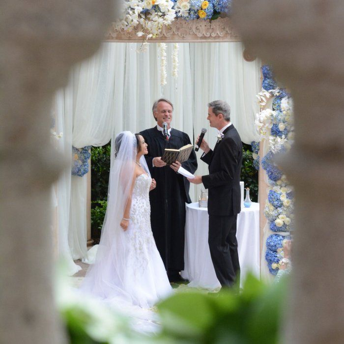 Real Wedding Vows For Her: Coastal Elegance: Vicharin And Robert In Marina Del Rey