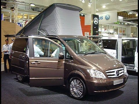 mercedes benz viano marco polo campervan german cars. Black Bedroom Furniture Sets. Home Design Ideas