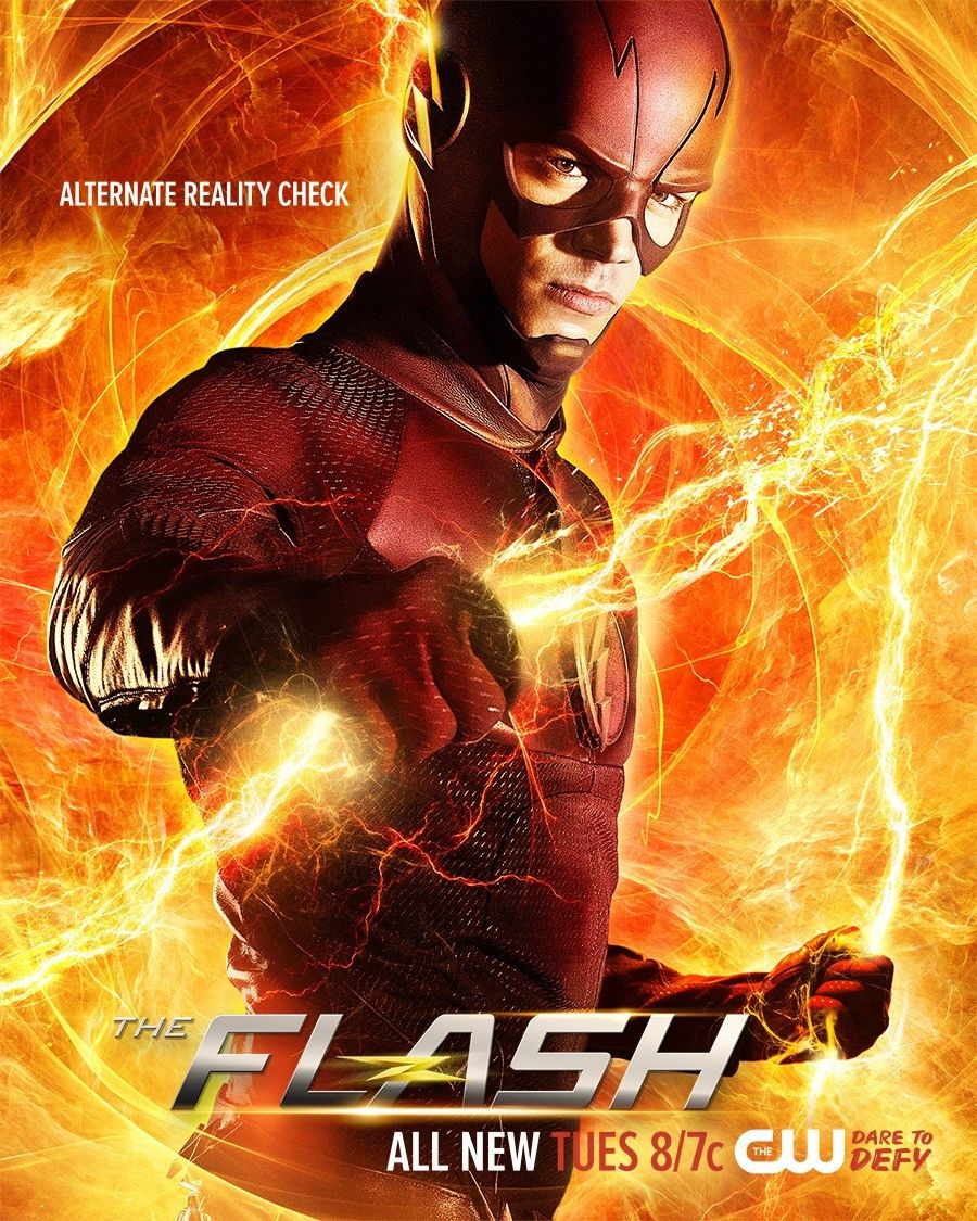 The Flash Reality Check The Flash Season The Flash Poster The