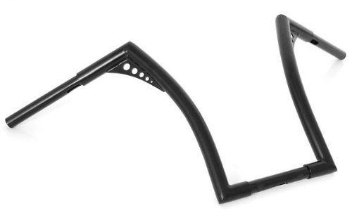 El Diablo Black 12 Rise Ape Hangers 1-1//4 Diameter Handlebars for Harley