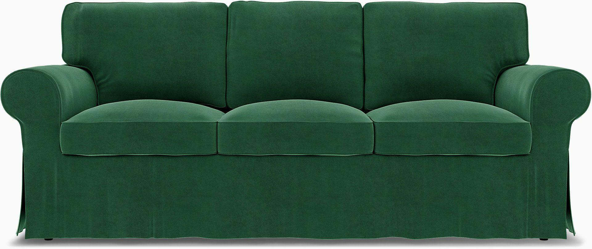 IKEA Ektorp, 3 Seater sofa cover with piping Bemz Bemz