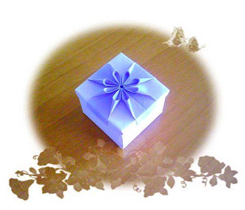 Origami flower box flower boxes origami and box origami flower box mightylinksfo