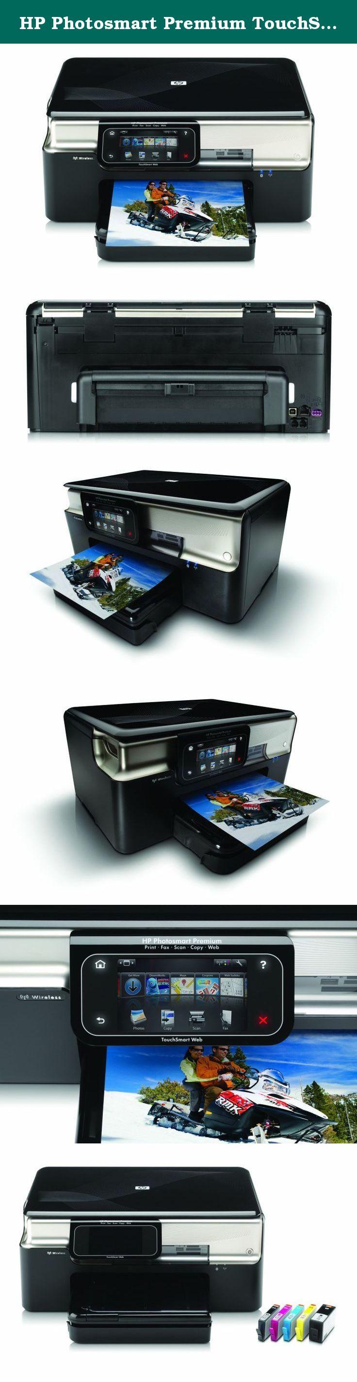 HP smart Premium TouchSmart Web All in e Printer HP smart Premium Web