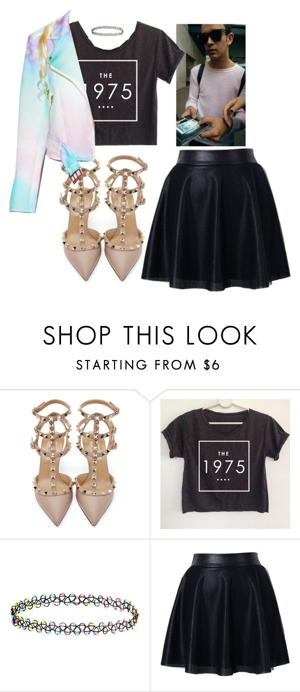 """""""UGH!"""" by marialemontero ❤ liked on Polyvore featuring Valentino, Accessorize, Chicwish and Sugarpills"""
