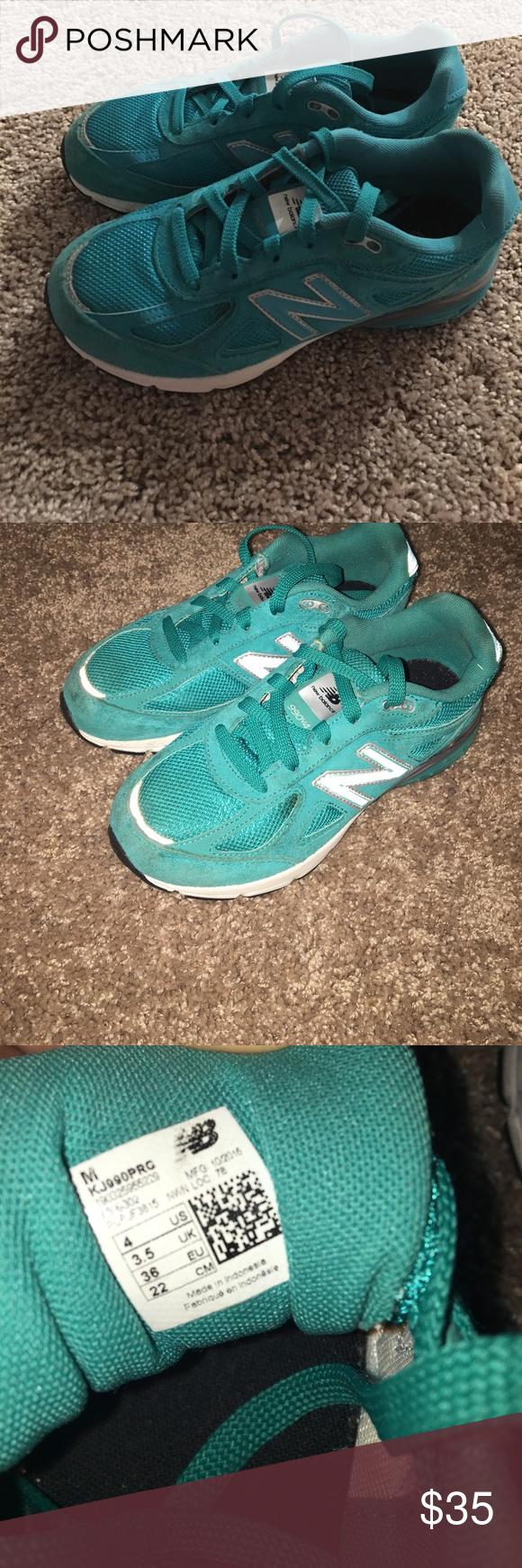 New Balance 990 v4 Turquoise (With
