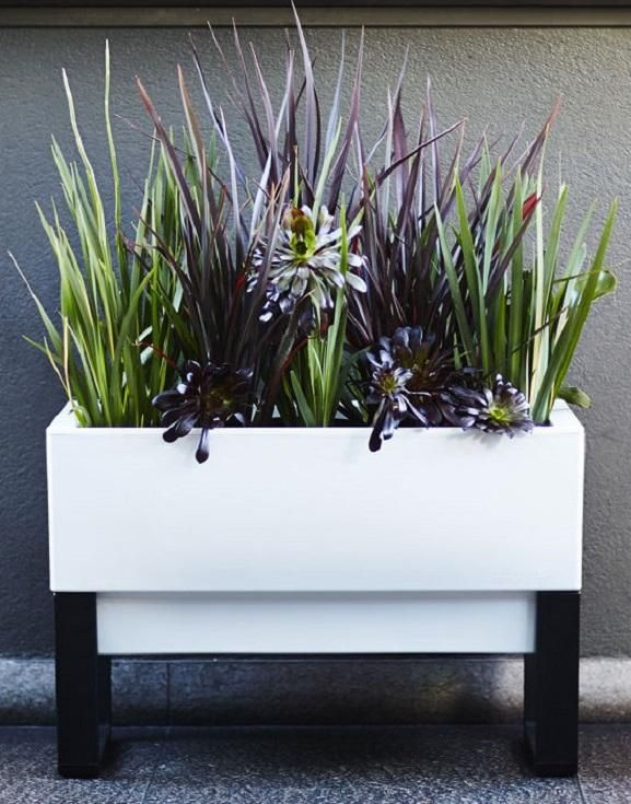 With A Unique Modular Design Allowing Each Planter To Either