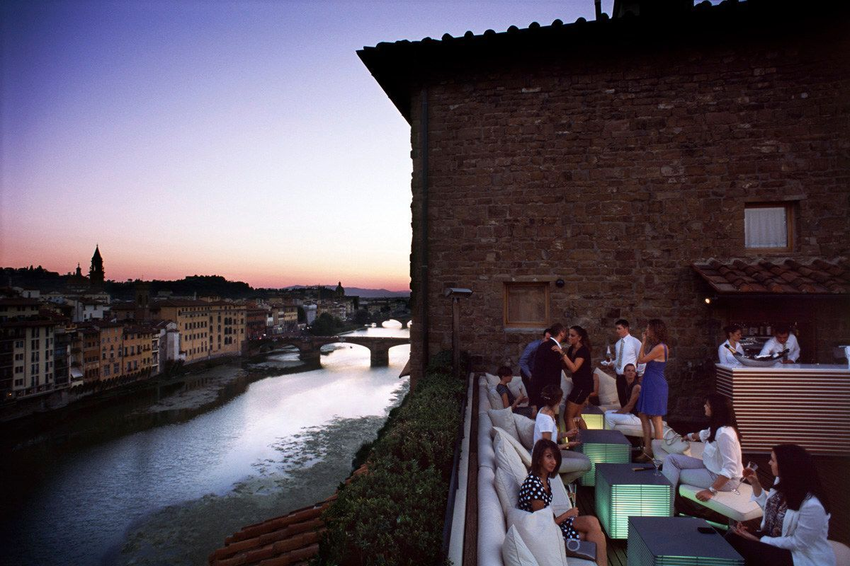 La Terrazza Sky Bar Hotel Continentale Florence