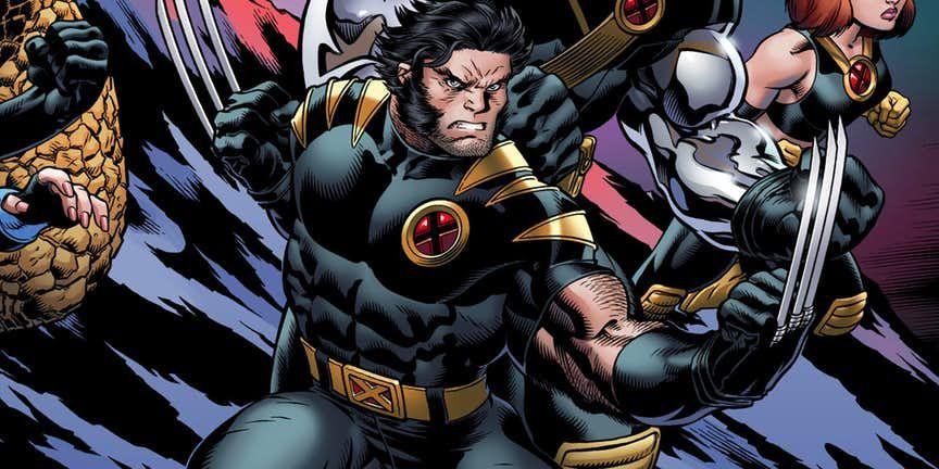 Wolverine In Ultimate X Men X Men Logan Wolverine Nightcrawler