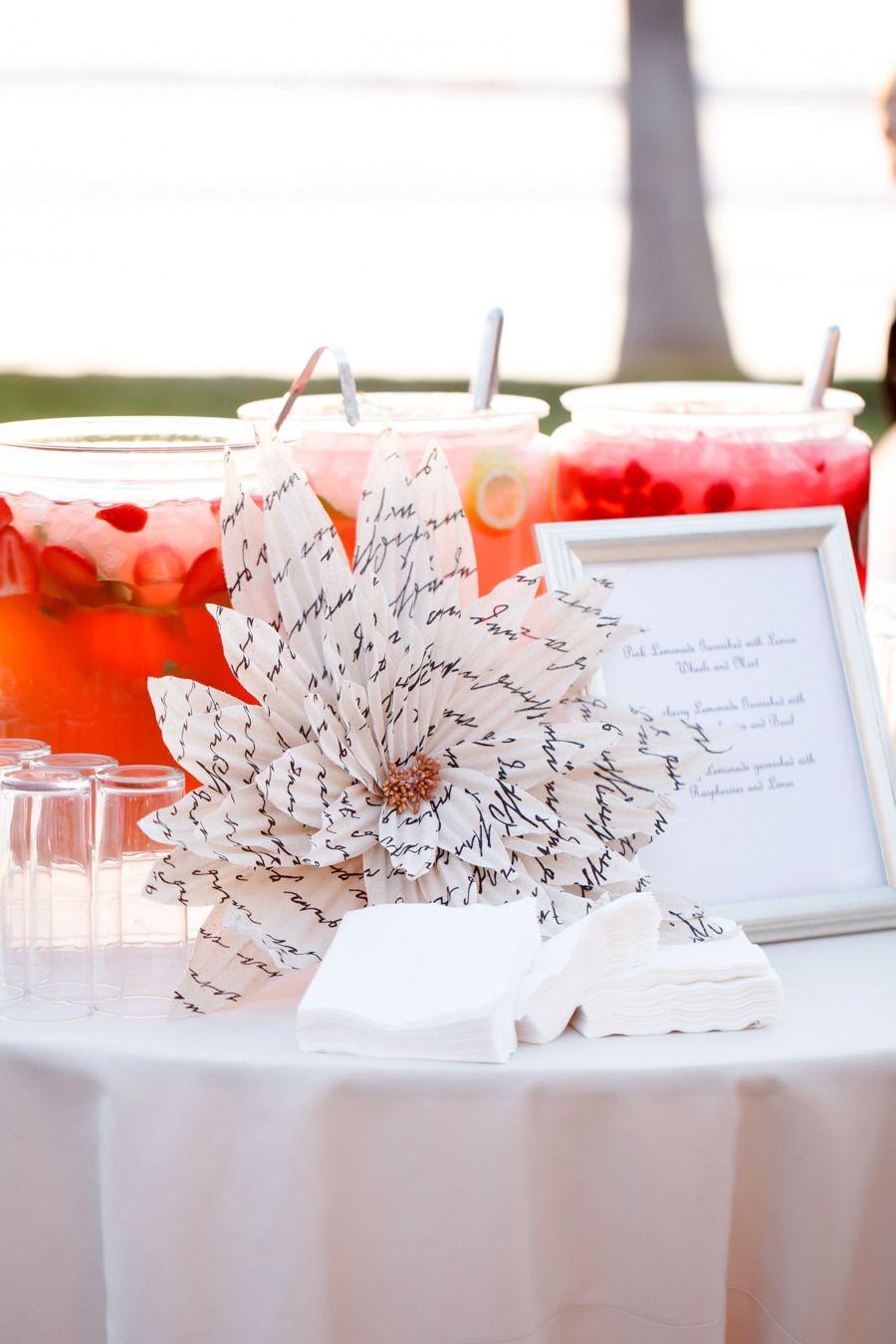 Black, White + Blush Seaside Wedding | Seaside wedding, Blush color ...