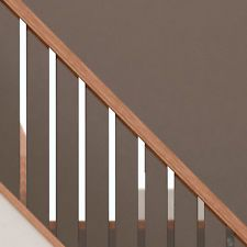 Best Scala Brushed Chrome Or Black Spindles Stair Parts Metal 400 x 300