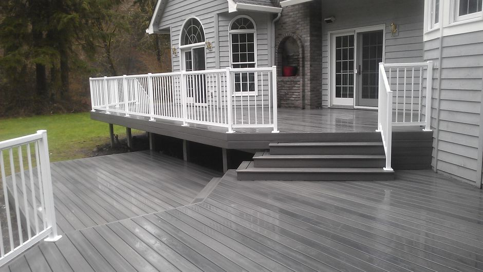 Fresh Balcony Wood Flooring