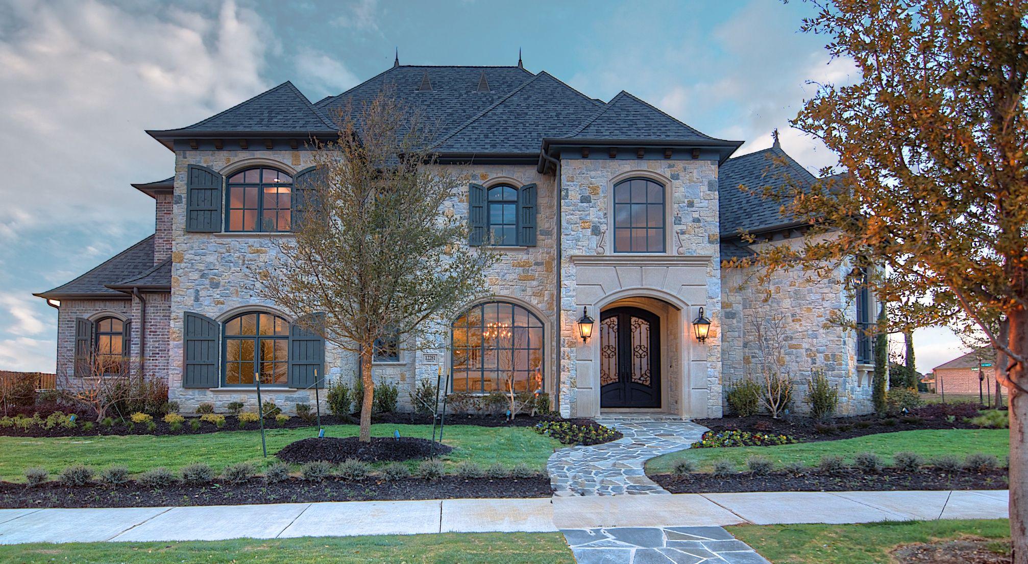 Beautiful New Home In Frisco Texas Ron Davis Custom Homes