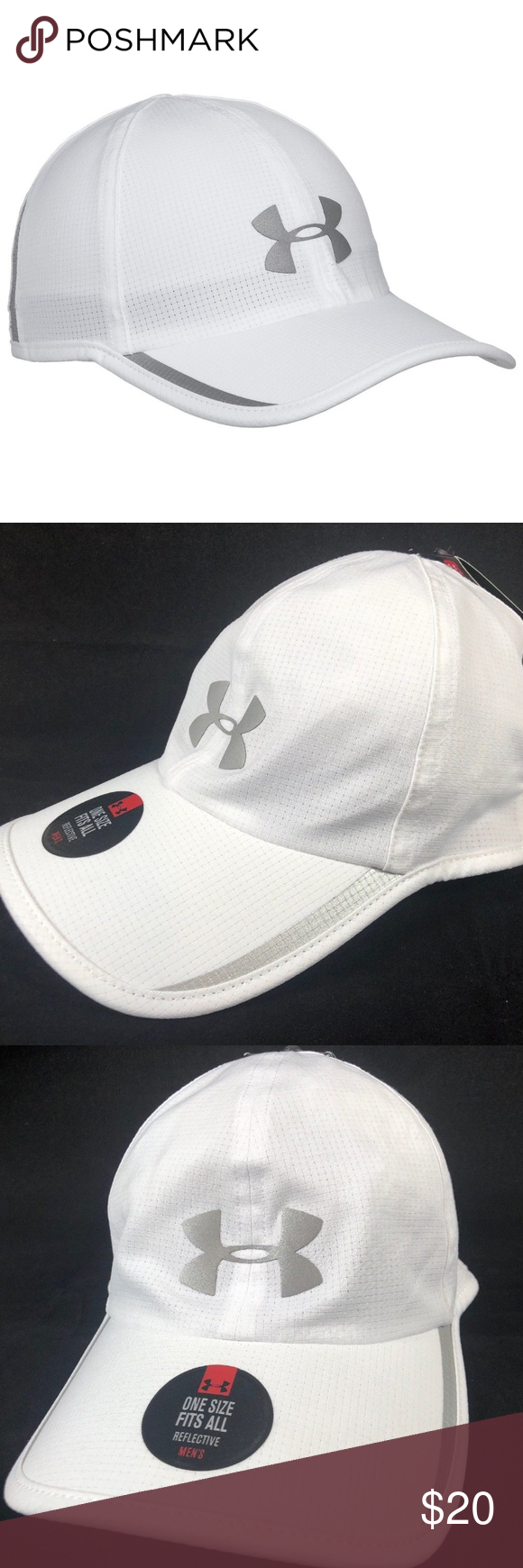 Under Armour Men s Shadow ArmourVent Hat Under Amour Shadow AV Baseball Cap  - UPF 30+ (For Men) Light as a feather and highly breathable 1f1fabfe668c