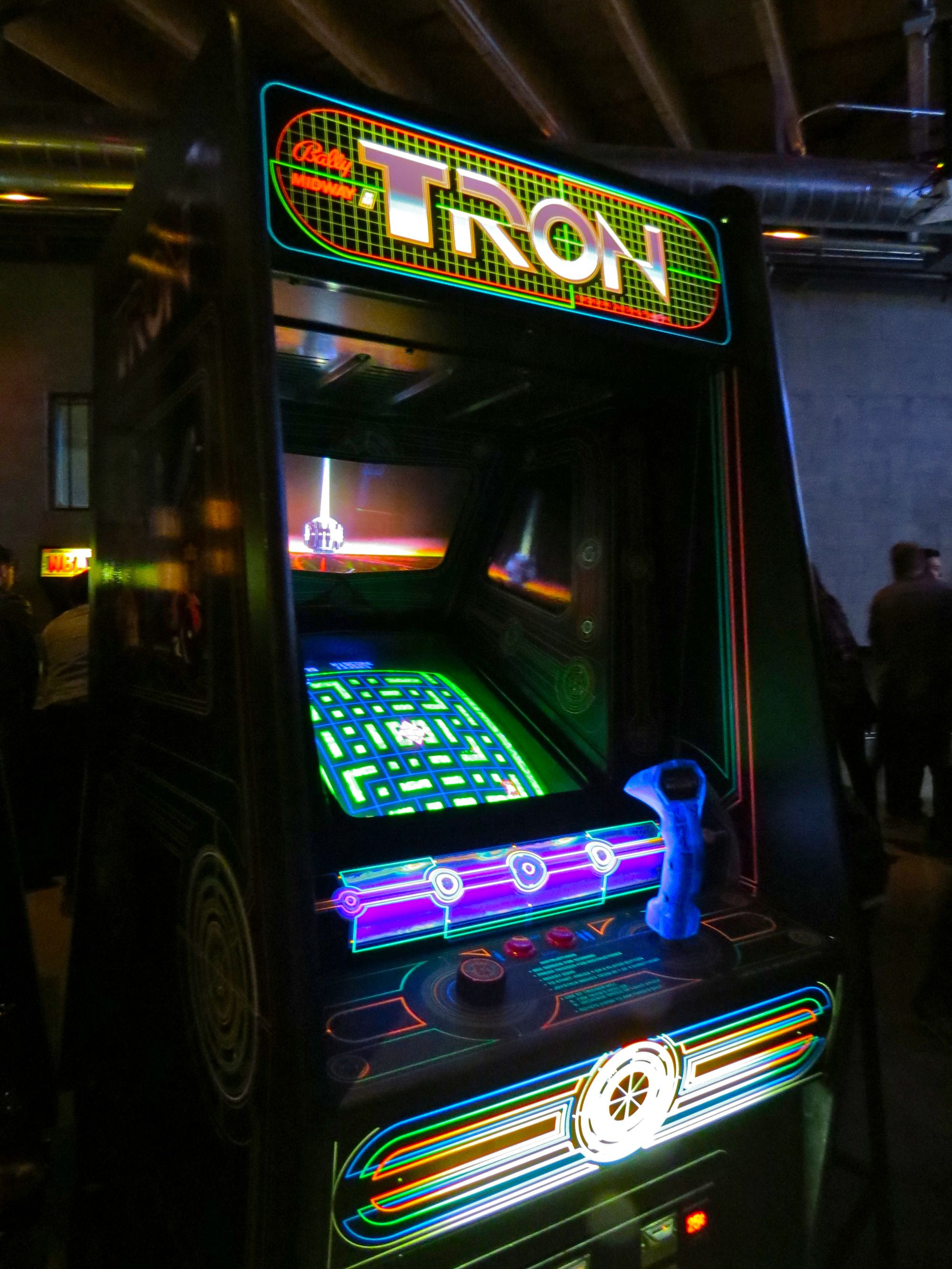 Tron is a coin-operated arcade video game manufactured and distributed by Bally Midway in 1982.