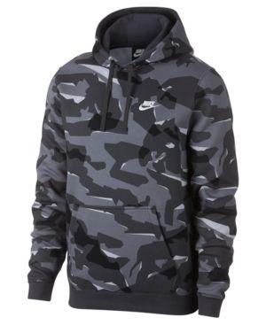 e00534a249891 Nike Men's Sportswear Camo-Print Fleece Hoodie - Gr | Products in ...