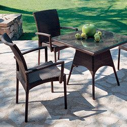 rausch outdoor wicker bistro tables at homeinfatuation com