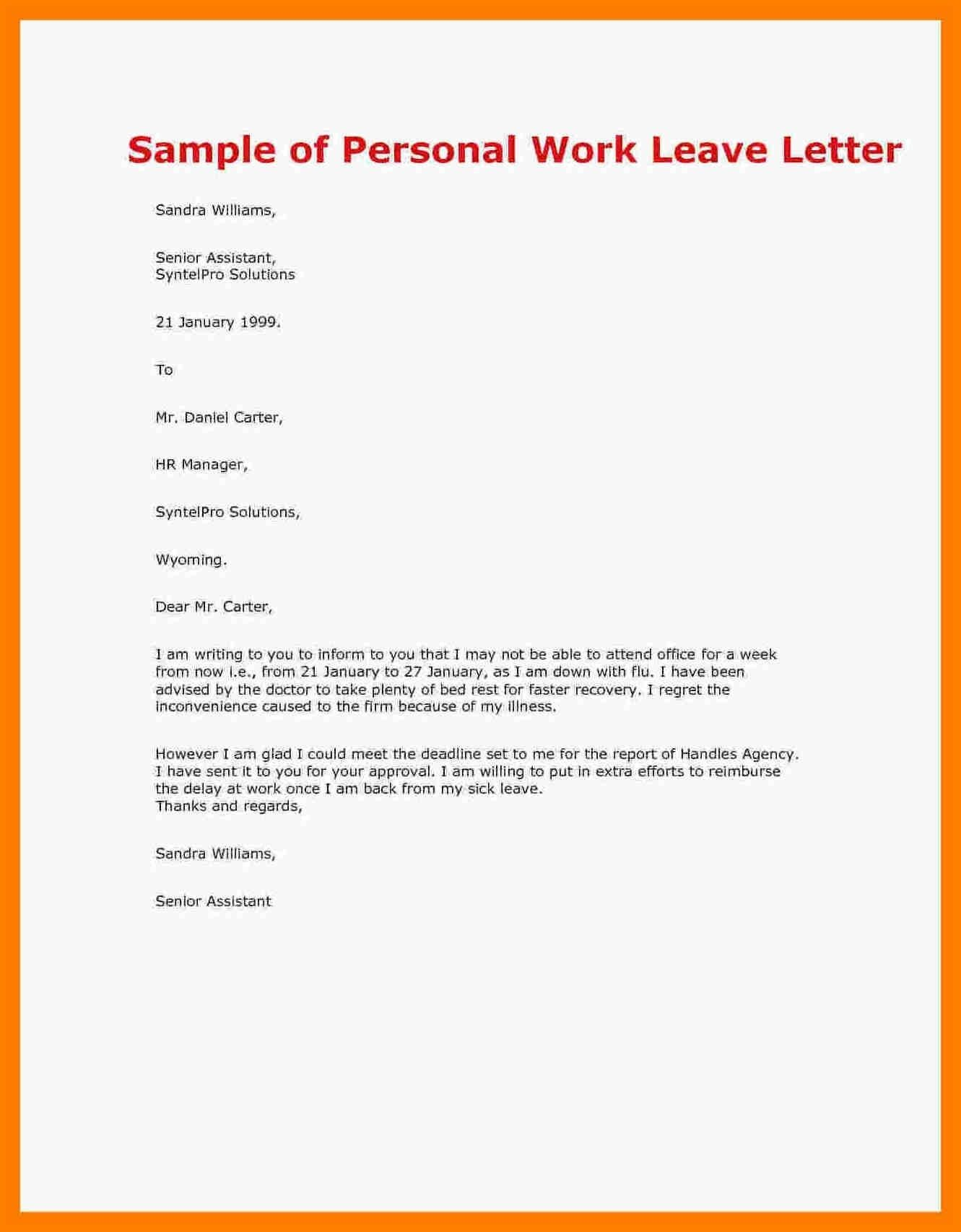 Best Refrence New Sample Letter Of Vacation Leave By Httpwaldwert Visit Details Http Httpwaldwert Org Sample Lettering Doctors Note Template Notes Template
