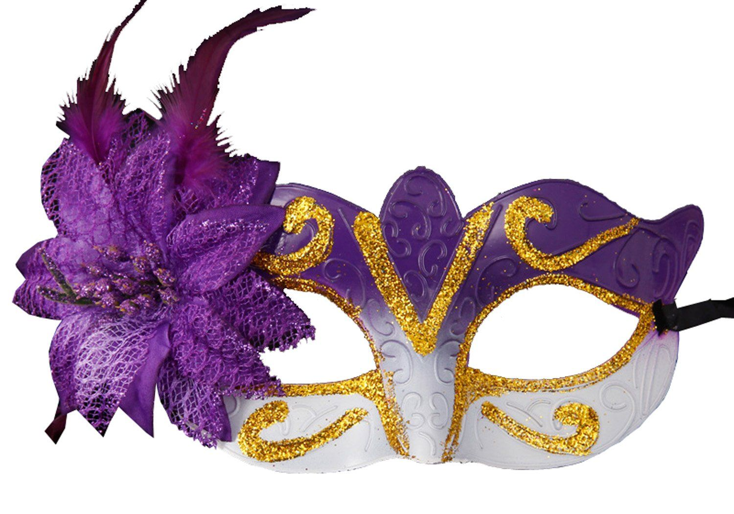 Masquerade Mask Halloween Costume Mask Venetian Party Mask Mardi ...