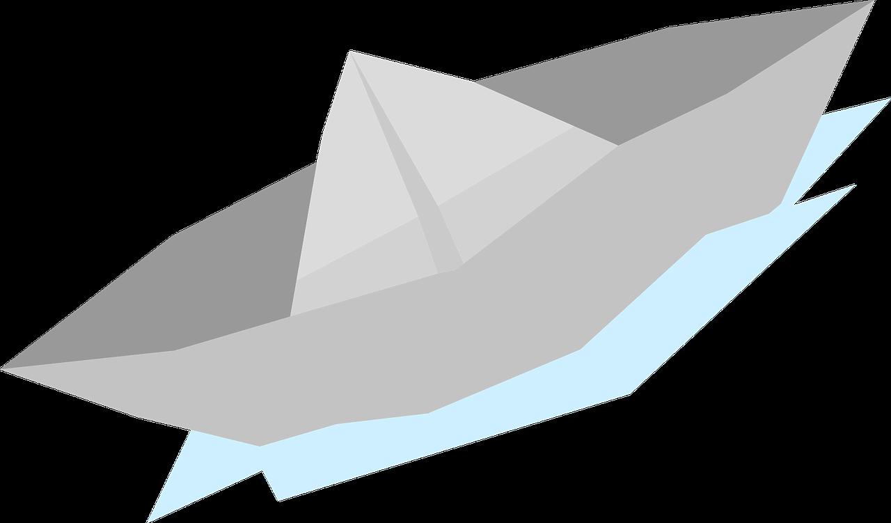 Boat Boat Cute Minimal Origami Paper Boat Boat Cute Minimal Origami Paper Origami Paper Art