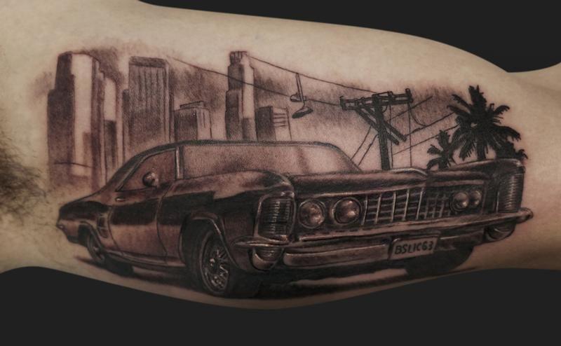 63 buick riviera tattoo buick riviera buick riviera