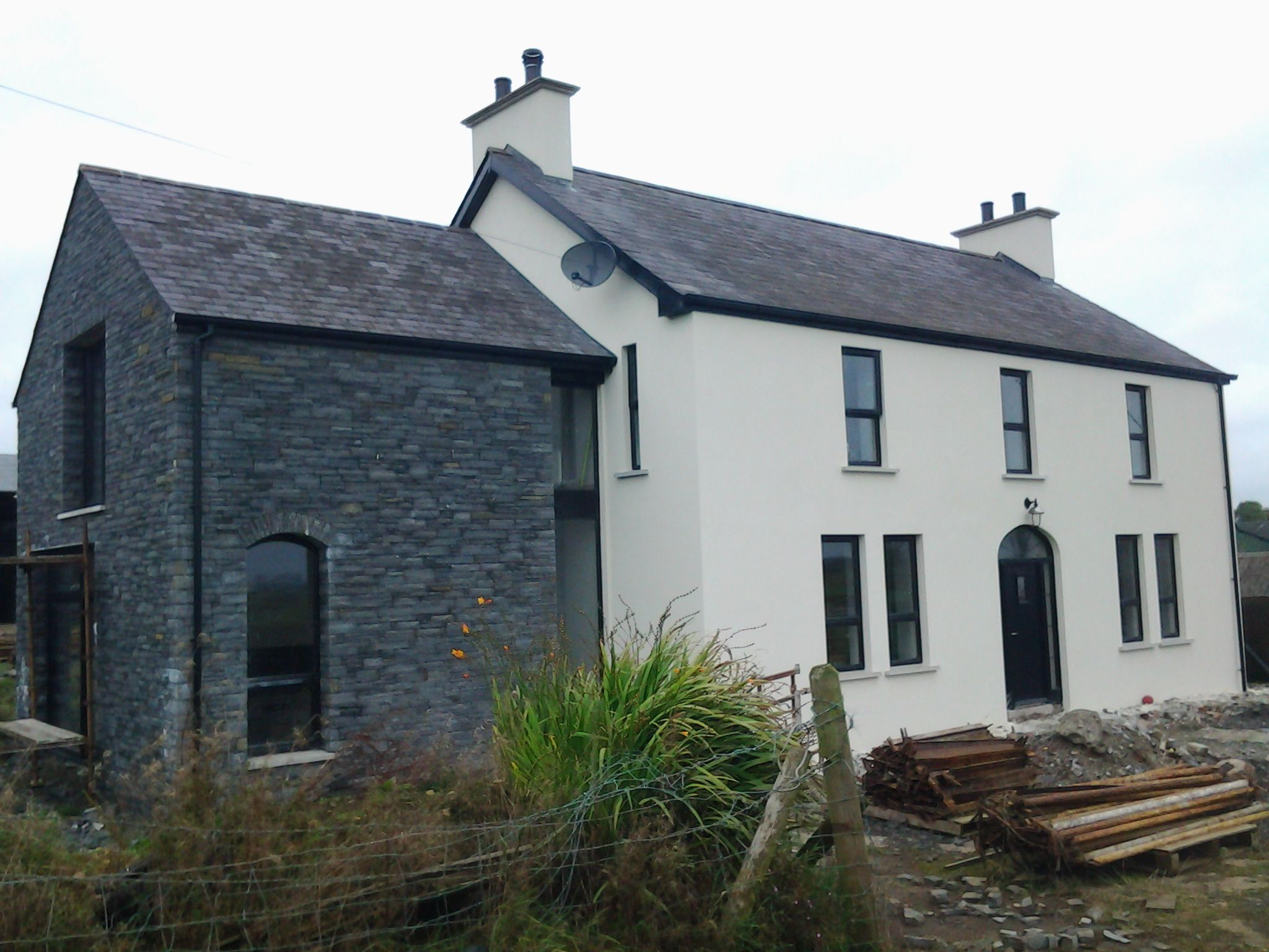 love the refurb on this traditional irish farmhouse2020