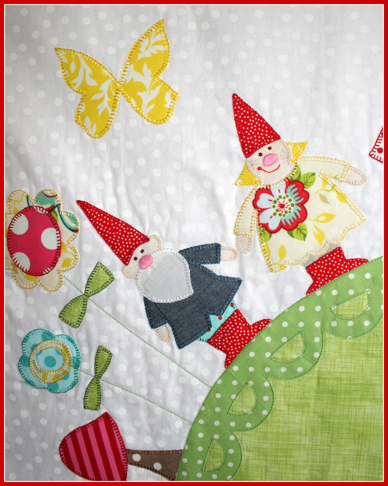 Applique Quilt Nursery Pinterest